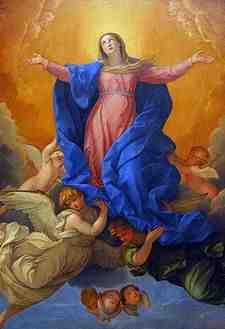 Wniebowzięcie Najświętszej Maryi Panny 15 sierpnia